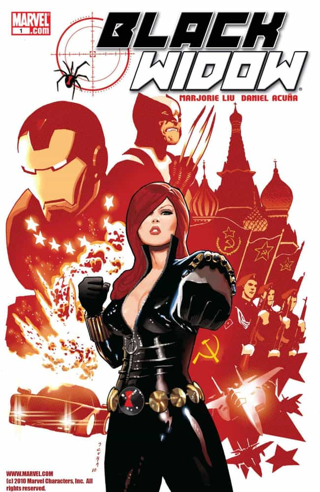 The Name Of The Rose is listed (or ranked) 1 on the list The Best Black Widow Storylines in Comics