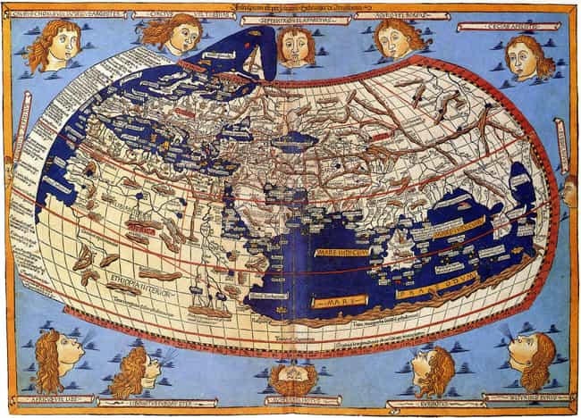 Ptolemy Wrote 'Geography' Base... is listed (or ranked) 4 on the list Did People Of The Middle Ages Think The World Was Flat?