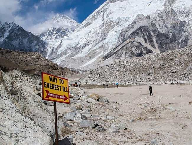 Nepal Does Not Limit The Amoun... is listed (or ranked) 4 on the list Why Is 2019 The Deadliest Year In Mount Everest's History?