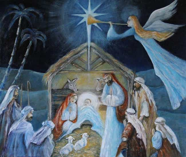Jesus Was Born In A Mang... is listed (or ranked) 1 on the list Things About The Nativity Story That Are Not Actually In The Bible