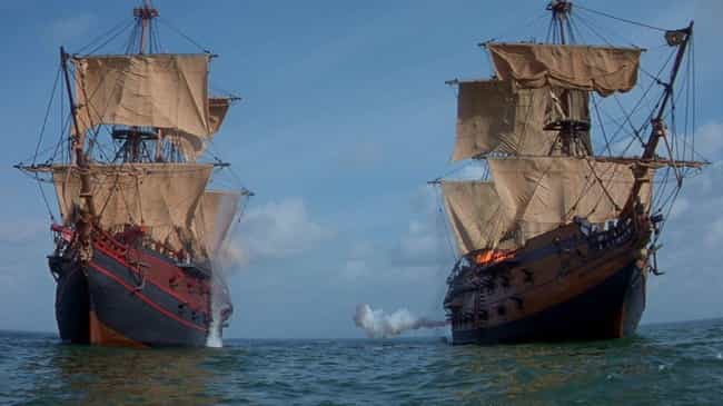Entire Sets Were Built With Th... is listed (or ranked) 4 on the list Inside 'Cutthroat Island,' The Cinematic Flop Accused Of Extinguishing The Pirate Genre