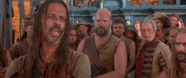 Delays, Mishaps, And Illness P... is listed (or ranked) 3 on the list Inside 'Cutthroat Island,' The Cinematic Flop Accused Of Extinguishing The Pirate Genre