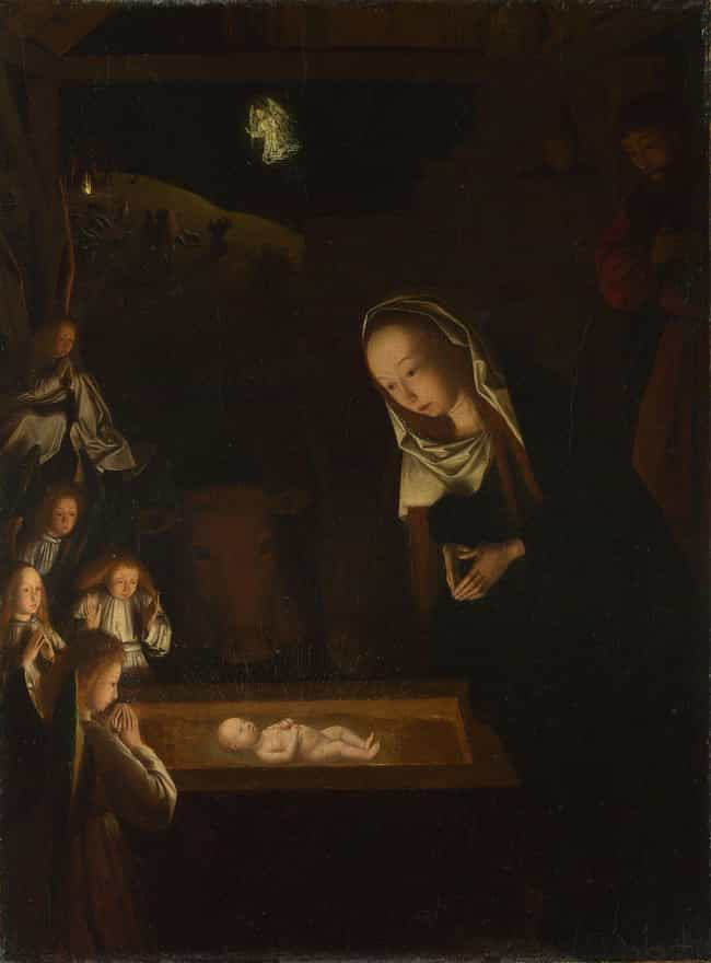 Mary Arrived In Bethlehe... is listed (or ranked) 2 on the list Things About The Nativity Story That Are Not Actually In The Bible