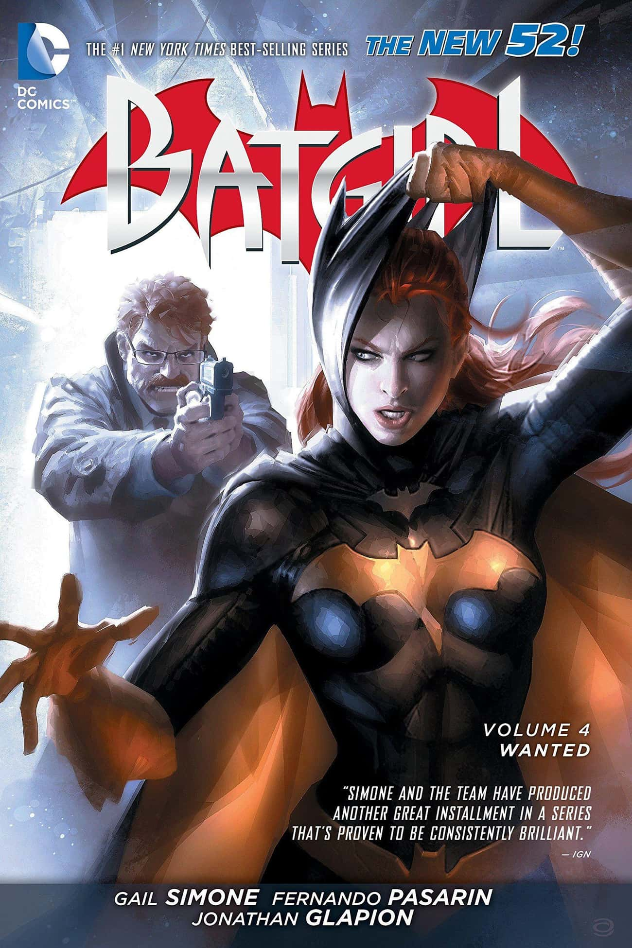 Wanted is listed (or ranked) 2 on the list The Best Storylines That FeatureBatgirl