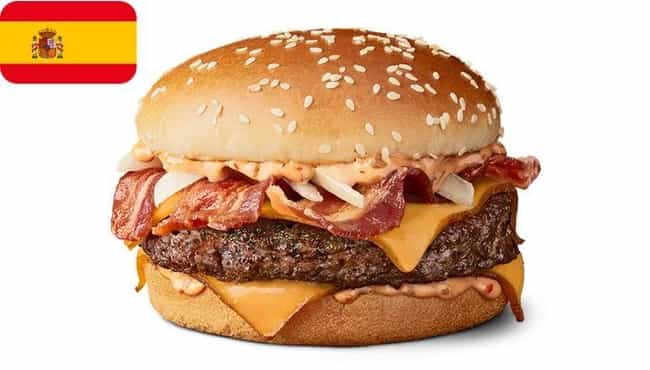 Grand McExtreme Bacon Burger is listed (or ranked) 3 on the list 24 Awesome McDonald's Dishes You Can't Buy in America