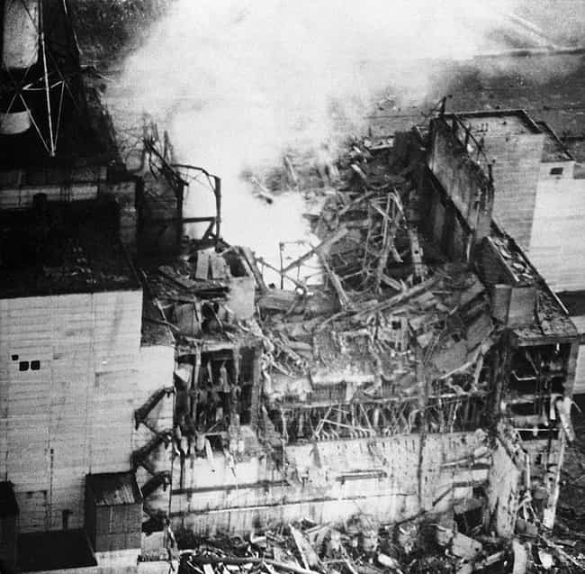 The Reactor Post-Explosi... is listed (or ranked) 4 on the list The Creepiest Photos From The Chernobyl Disaster And Its Aftermath