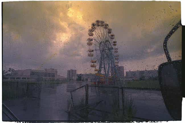 A Ferris Wheel In The Ab... is listed (or ranked) 1 on the list The Creepiest Photos From The Chernobyl Disaster And Its Aftermath