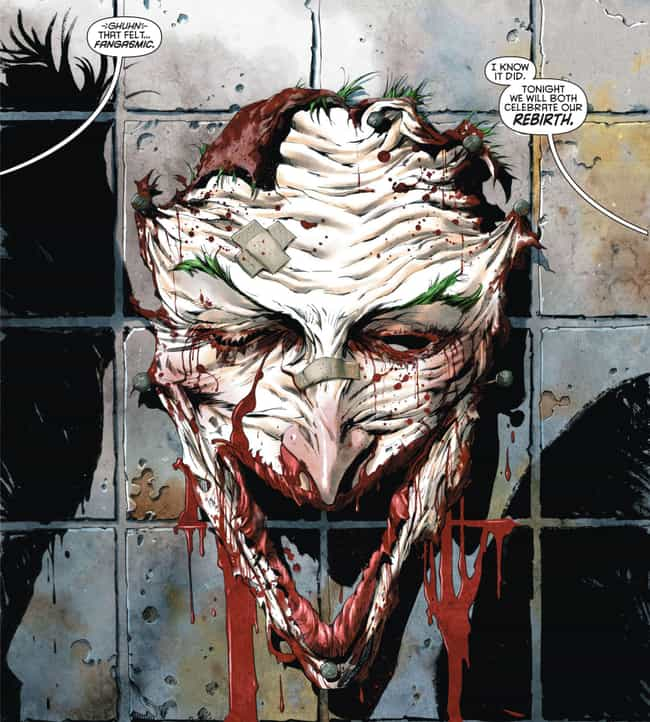 Dollmaker Cuts Off Joker... is listed (or ranked) 3 on the list The 'Death Of The Family' Joker Comic Book Arc Was One Of The Most Messed Up In Comic Book History