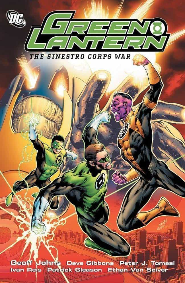 Sinestro Corps War is listed (or ranked) 3 on the list The Best Storylines That Feature Green Lantern