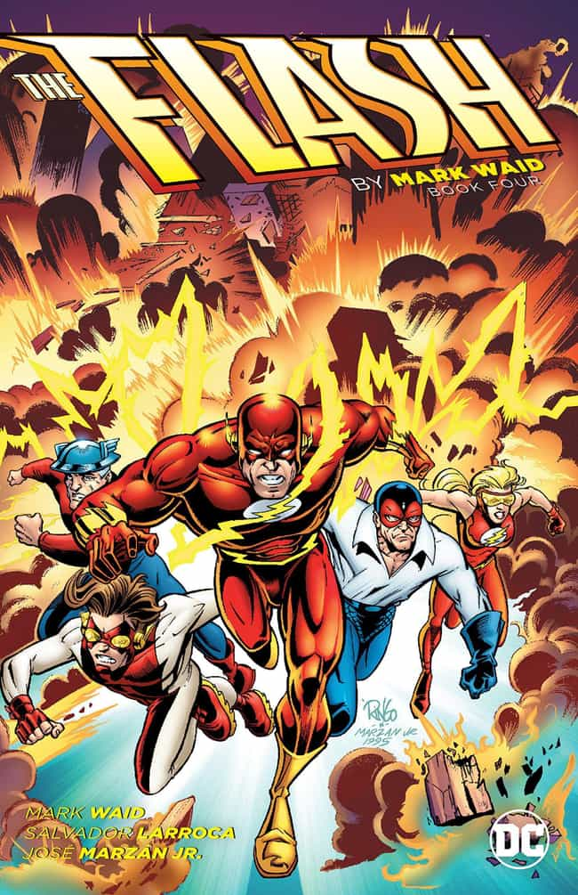 The Flash: Terminal Velocity is listed (or ranked) 7 on the list The Best The Flash Storylines in Comics