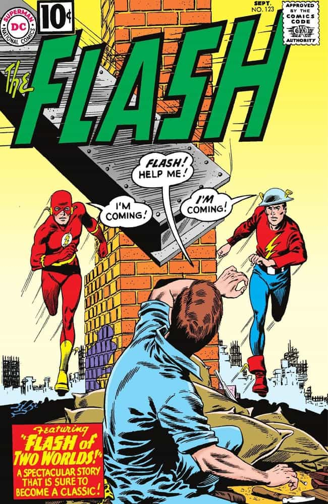 Flash Of Two Worlds is listed (or ranked) 4 on the list The Best The Flash Storylines in Comics
