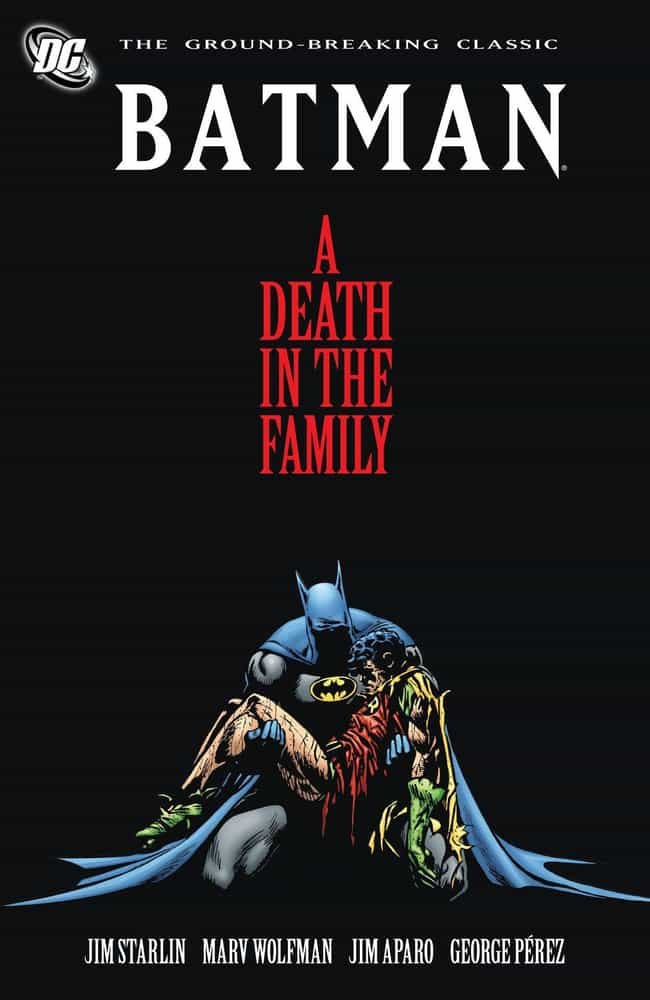 A Death In The Family is listed (or ranked) 2 on the list The Best Joker Storylines In Comic History