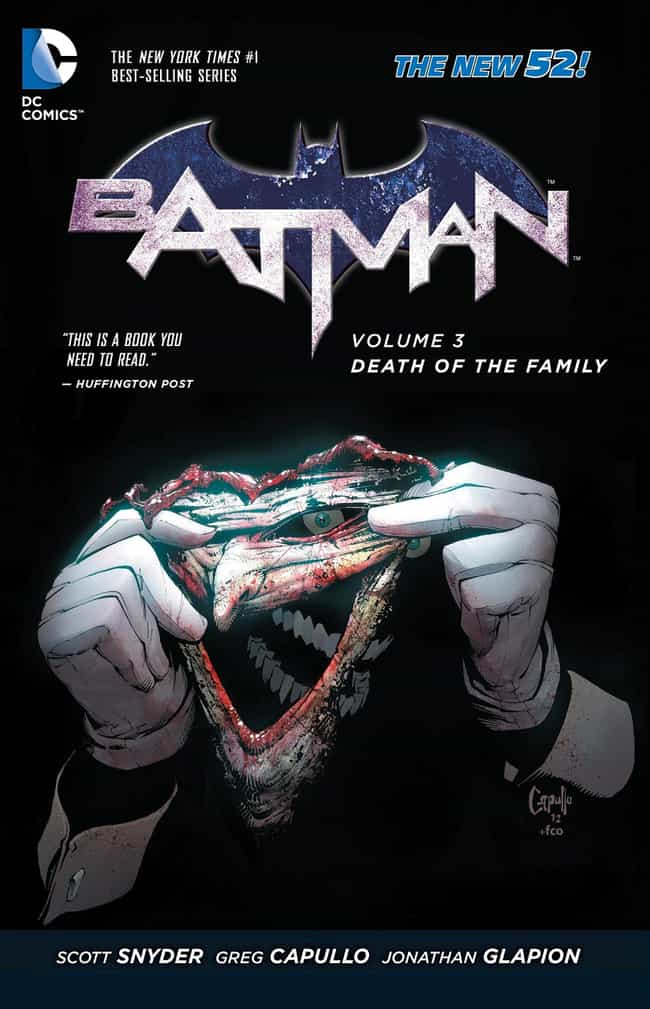 Death Of The Family is listed (or ranked) 4 on the list The Best Joker Storylines In Comic History