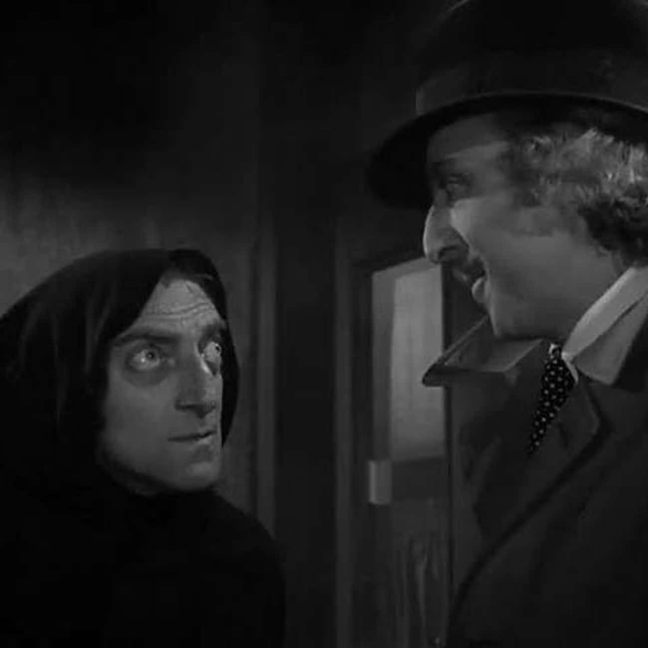 What Hump? is listed (or ranked) 4 on the list The Best 'Young Frankenstein' Quotes