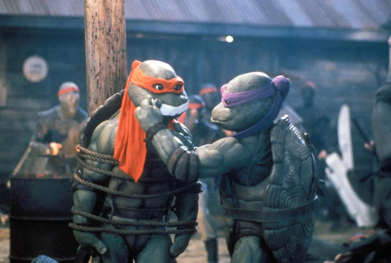 Safety Wasn't A Huge Priority  is listed (or ranked) 4 on the list Behind-The-Scenes Stories Of How 'TMNT II: The Secret of the Ooze' Became A Cinematic Disaster