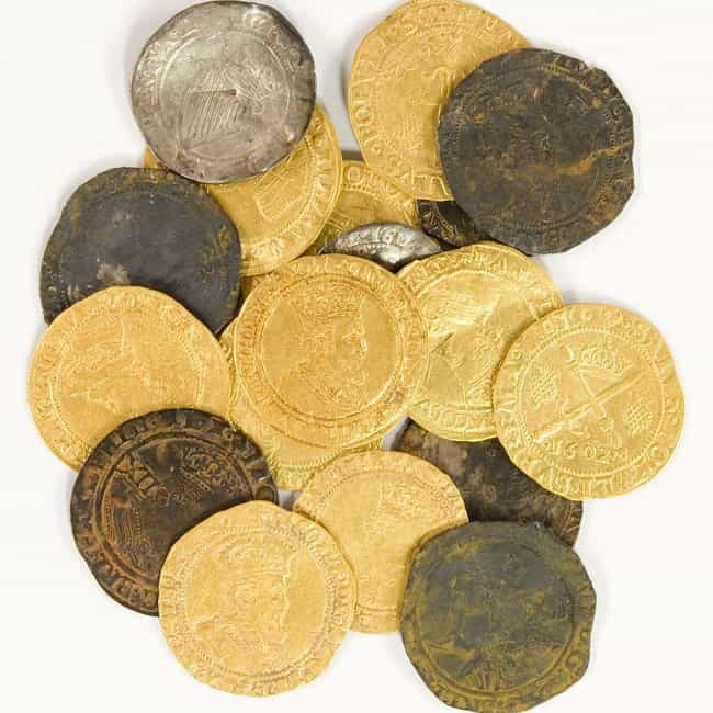 Early 1600s: The British Pound is listed (or ranked) 3 on the list All The Currency That Existed In The United States Before The USD