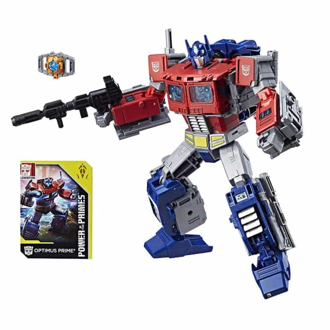 Transformers: Generations Powe... is listed (or ranked) 4 on the list The 15 Best 'Power of the Primes' Toys, Ranked