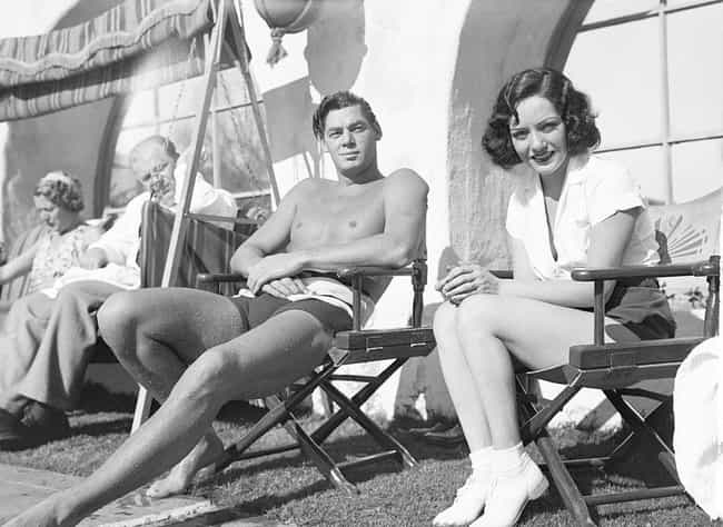 Johnny Weismuller And Lupe Vel... is listed (or ranked) 5 on the list 20 Photos Of Old Hollywood Letting Its Hair Down At Its Secret Getaway