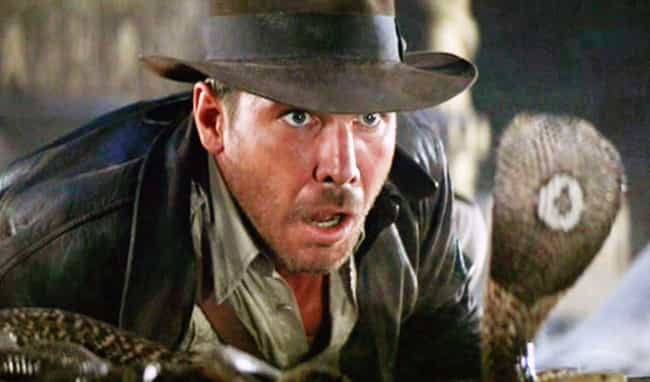 He Faced Deadly Snakes, ... is listed (or ranked) 3 on the list Harrison Ford's Behind-The-Scenes Stories Of Making The 'Indiana Jones' Films