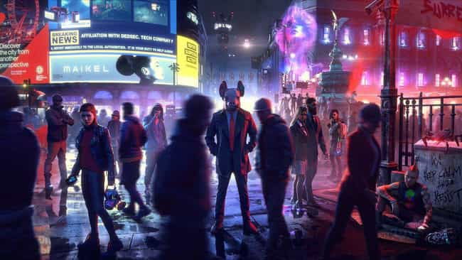 Watch Dogs: Legion is listed (or ranked) 3 on the list The Best Things We Saw At E3 2019