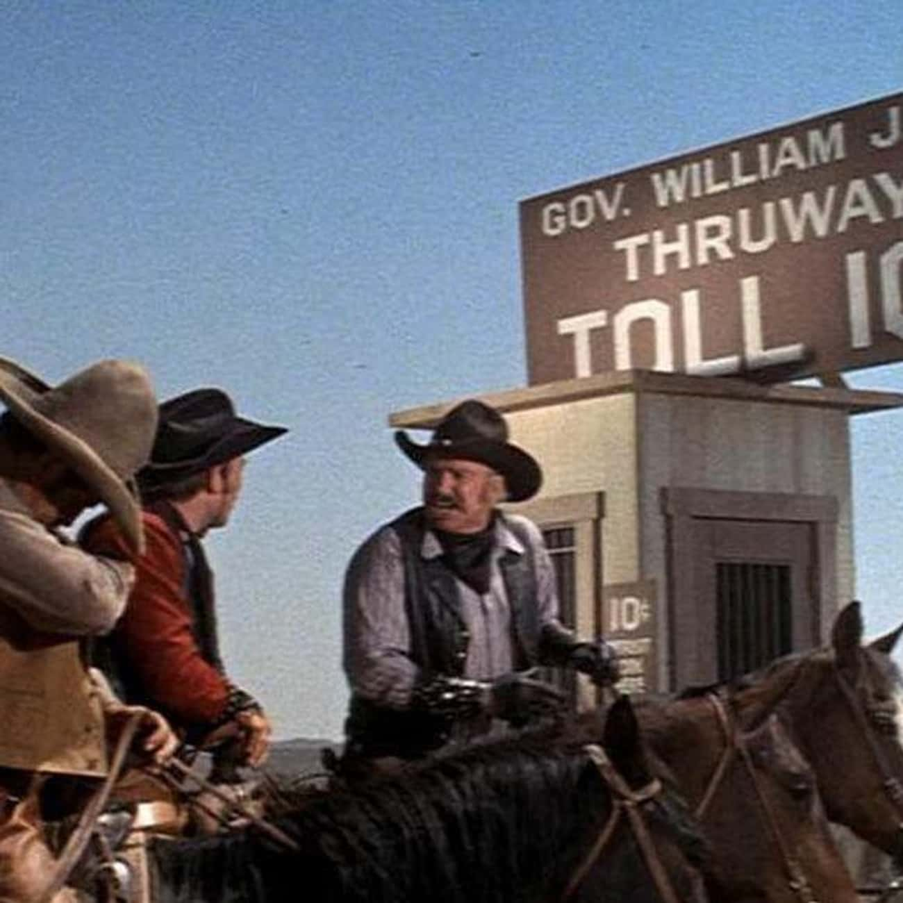 A Dime is listed (or ranked) 1 on the list The Best 'Blazing Saddles' Quotes