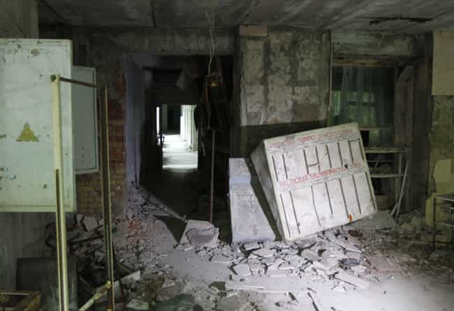 A Hospital Where The Injured W... is listed (or ranked) 2 on the list The Most Haunting Photos Of Chernobyl Now