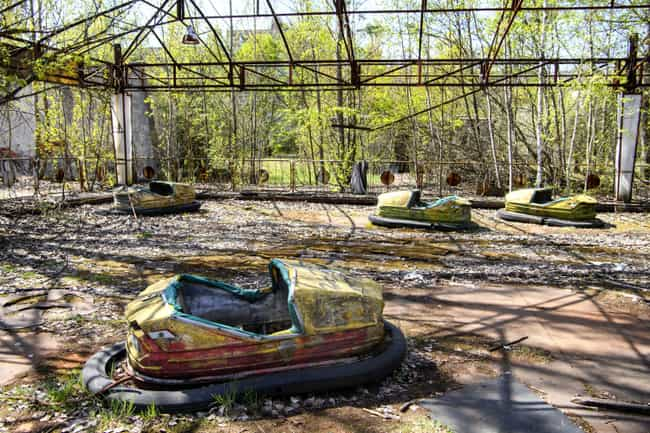 An Abandoned Amusement Park is listed (or ranked) 3 on the list The Most Haunting Photos Of Chernobyl Now