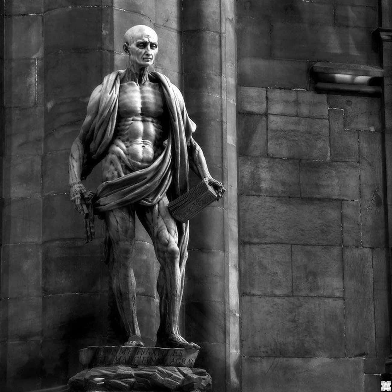 The Saint Was Flayed Like A Le is listed (or ranked) 3 on the list Why Is There A 450-Year-Old Catholic Statue Of A Flayed Saint In The Middle Of Milan?