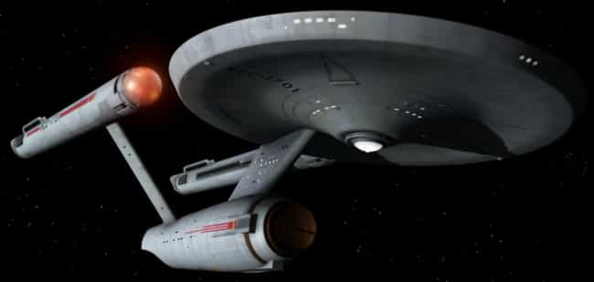 USS Enterprise (NCC-1701... is listed (or ranked) 4 on the list The 19 Coolest Starships In The 'Star Trek' Universe