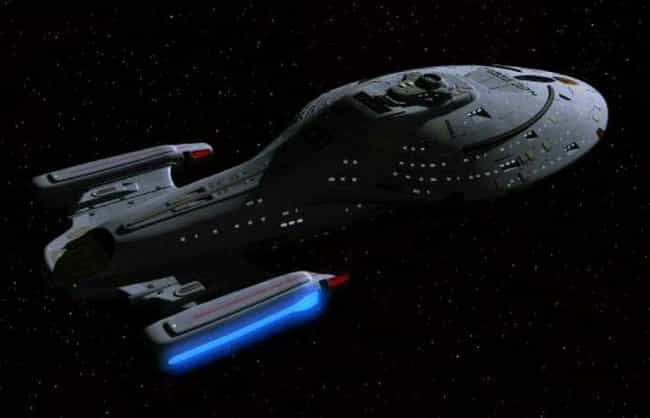 USS Voyager is listed (or ranked) 3 on the list The 19 Coolest Starships In The 'Star Trek' Universe