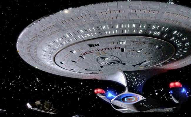 USS Enterprise-D is listed (or ranked) 1 on the list The 19 Coolest Starships In The 'Star Trek' Universe