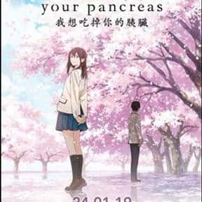 I want to eat your pancreas/Ki is listed (or ranked) 8 on the list The Saddest Anime Series of All Time