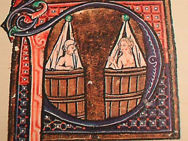 Bathing Was Highly Encou... is listed (or ranked) 1 on the list What Was Hygiene Like In A Medieval Castle?