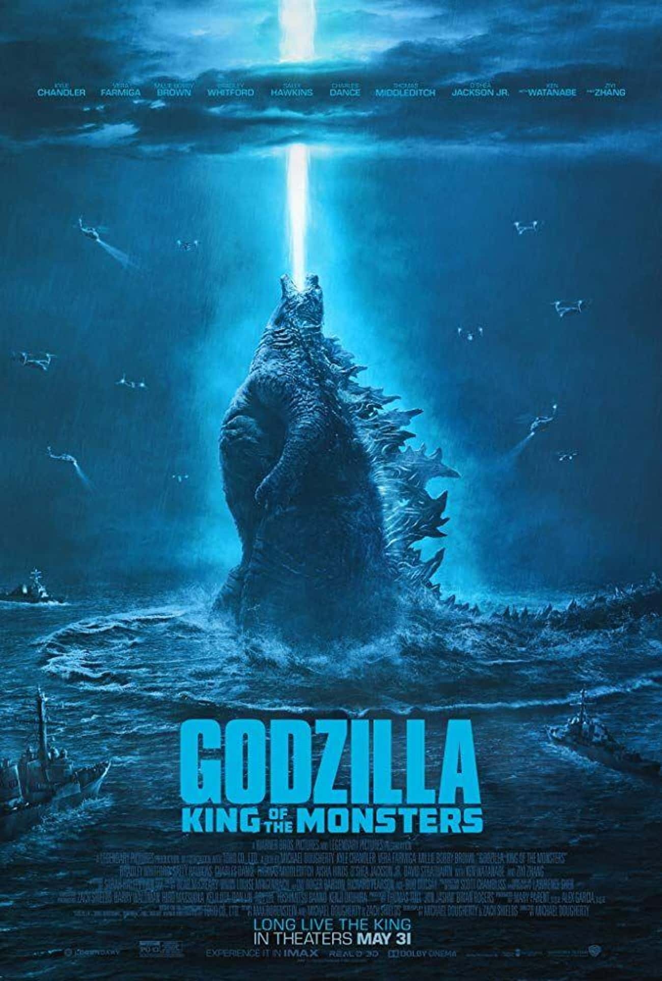 Godzilla: King of the Monsters is listed (or ranked) 2 on the list The Best 'Godzilla' Movies Ever, Ranked