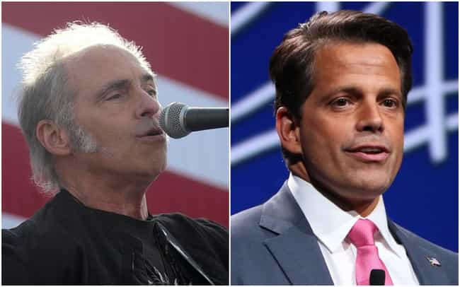 Nils Lofgren vs. Anthony Scara... is listed (or ranked) 3 on the list The Biggest Celebrity Feuds of 2019