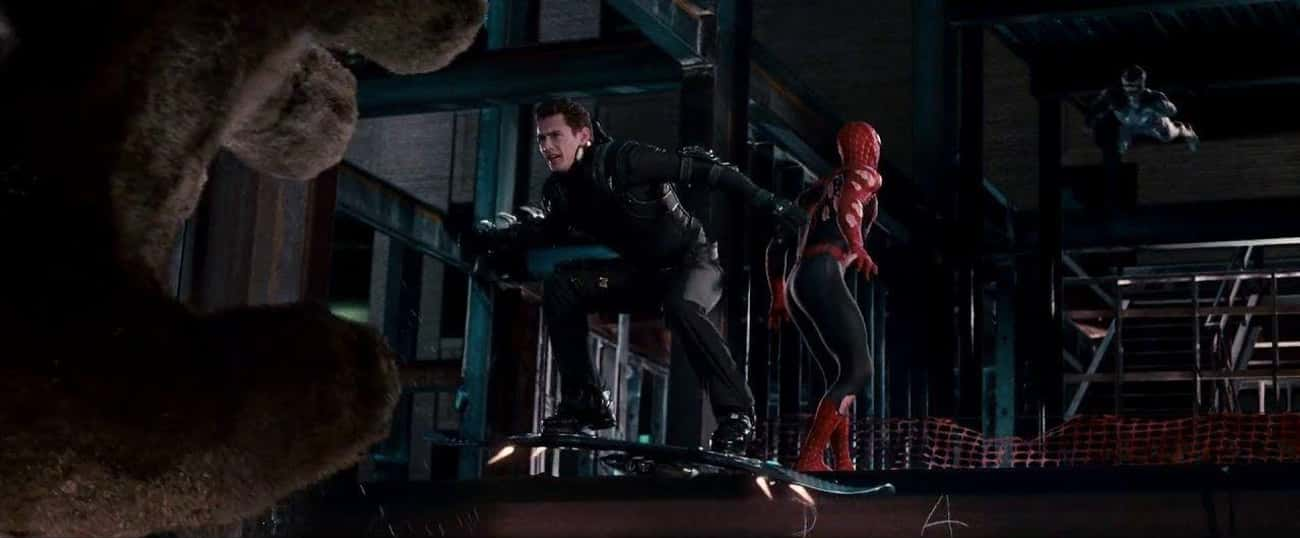 The Physics Are Inaccurate And is listed (or ranked) 4 on the list Behind The Scenes Of What Made 'Spider-Man 3' Such A Creative Flop