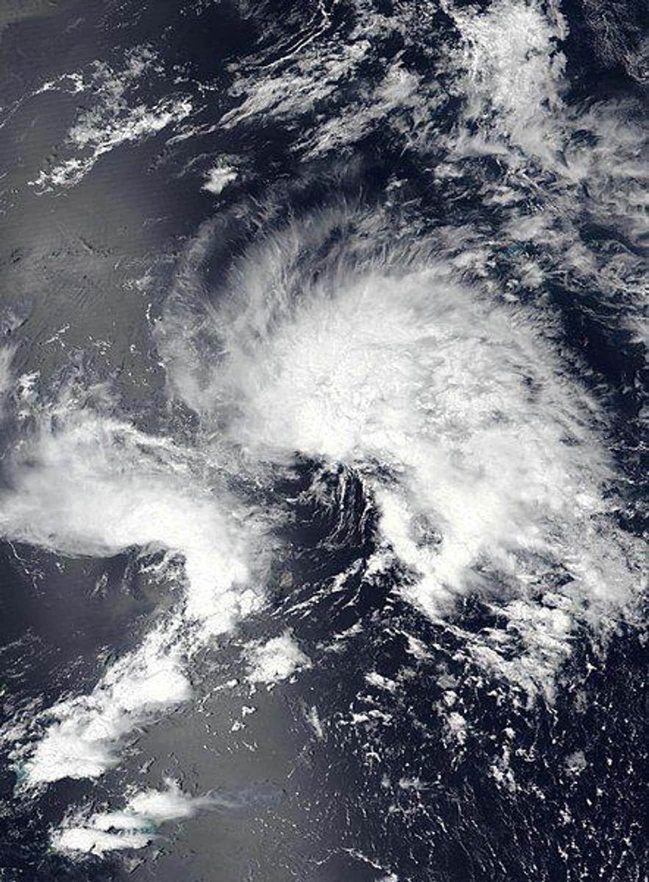 Subtropical Storm Andrea is listed (or ranked) 4 on the list The Worst Hurricanes & Tropical Storms Of 2019