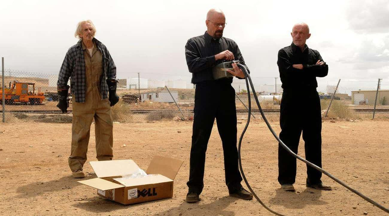 Using A Giant Magnet To Wipe A is listed (or ranked) 4 on the list All Of The Science Hacks From 'Breaking Bad'