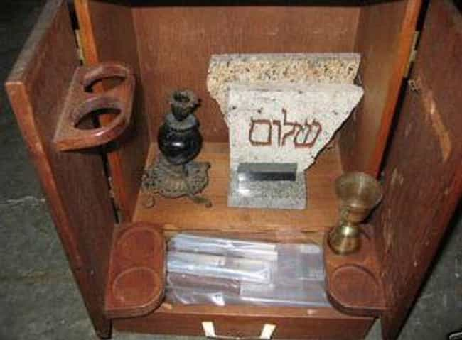 The Dybbuk Box is listed (or ranked) 1 on the list The Freakiest Items On Display At Zak Bagans' Haunted Museum In Las Vegas