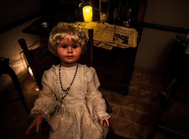 Peggy The Doll is listed (or ranked) 2 on the list The Freakiest Items On Display At Zak Bagans' Haunted Museum In Las Vegas