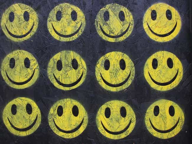 The Smiley Became Part O... is listed (or ranked) 4 on the list The Surprisingly Complicated History Of The Smiley Face