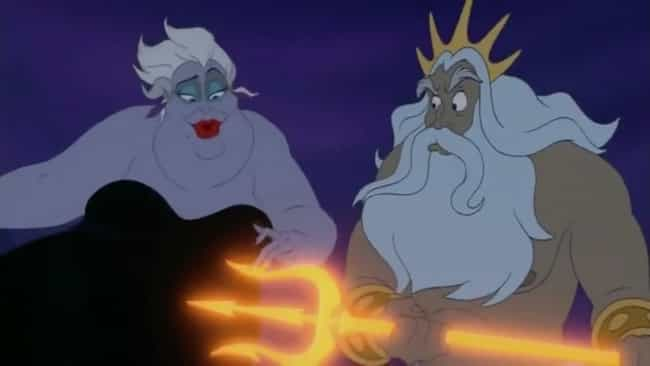 Ursula Is King Triton's Sister... is listed (or ranked) 3 on the list 'The Little Mermaid' Fan Theories That Just Might Be True