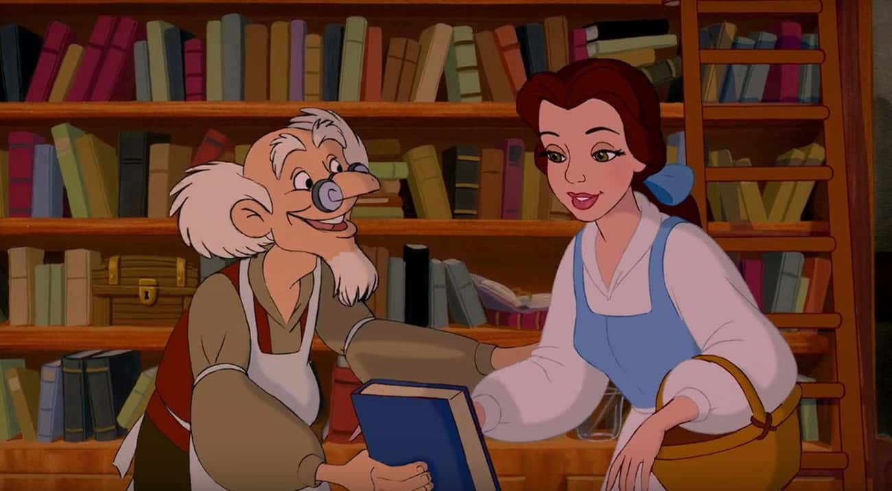 Belle's Favorite Book Is A Reference To Another Disney Movie