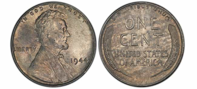 1944 Steel Wheat Penny is listed (or ranked) 2 on the list The Most Valuable Pennies Of All Time