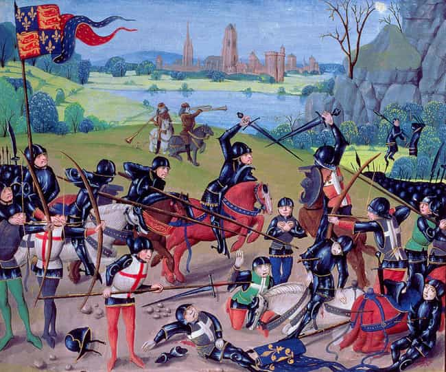 MYTH: All Combatants Belonged ... is listed (or ranked) 4 on the list Myths About Medieval Warfare, Debunked