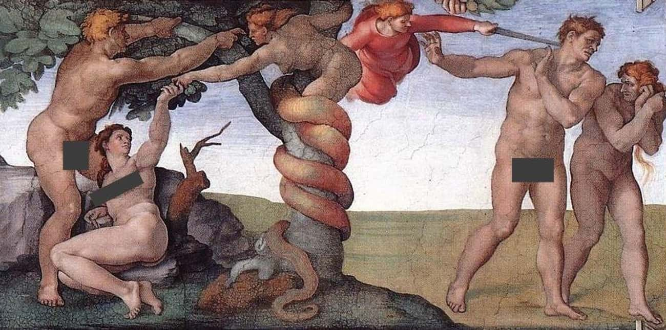 God Stripped Adam And Eve Of T is listed (or ranked) 4 on the list 'The Apocalypse Of Adam' Is A Gnostic Gospel's Genesis Account Told From Adam's Perspective