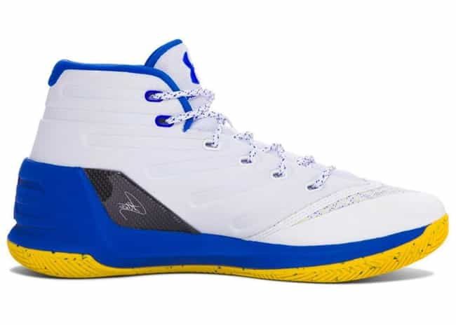UA Curry 3 is listed (or ranked) 4 on the list The Coolest Stephen Curry Signature Shoes, Ranked