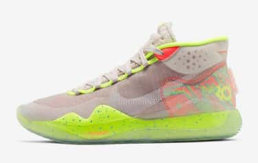 Nike KD 12 is listed (or ranked) 2 on the list The Coolest Kevin Durant Signature Shoes, Ranked