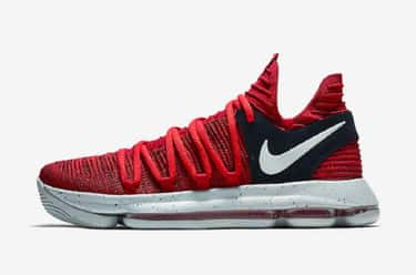 Nike KD 10 is listed (or ranked) 1 on the list The Coolest Kevin Durant Signature Shoes, Ranked