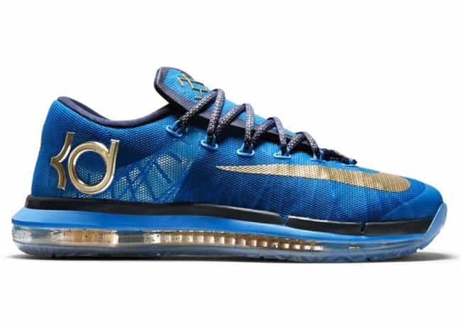 Nike KD 6 is listed (or ranked) 3 on the list The Coolest Kevin Durant Signature Shoes, Ranked